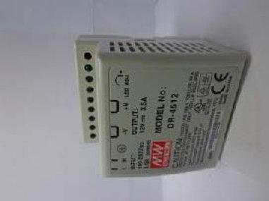 MW DR-4505 Input: 100-240Vac, 1.5F 50/60Hz,