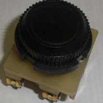 Выключатель КУ011101 (черный цилиндр)