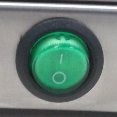 Переключатель с подсветкой зеленый IRS-101-8C