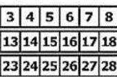 Didital marker 11-20