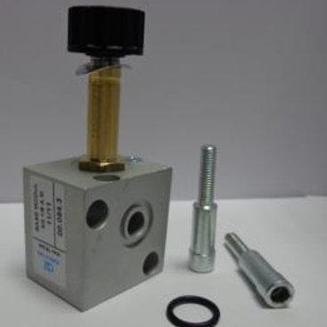 Manifold: 3pcs 3/2, NC, Solenoid valve