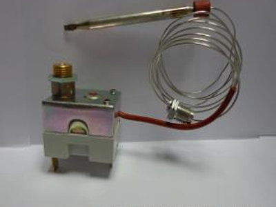 Thermostat manual reset/automatical reset