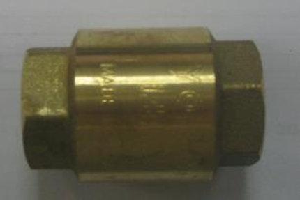 Клапан обратный вертикально-горизонтальный G1/2