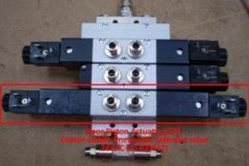 5/3, Centerstabile Pneumatic Solenoid valve, 24VAC