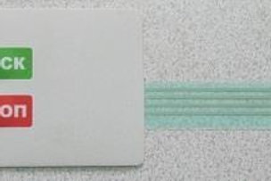 Наклейка СМО 10.015 (Клавиатура пленочная)