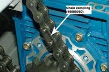 Chain campling