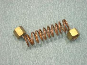 Трубка для мановакуумметра (с гайками и паронитовы
