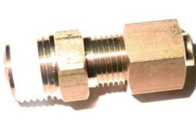 Соединение прямое резьбовое 6R1/4 KFH04B-02S