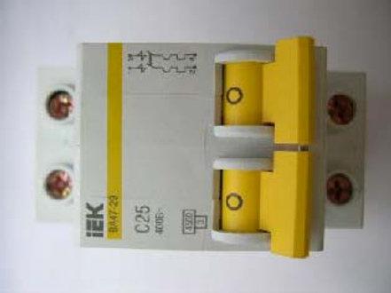 IEK BA47-29 C25, 400B (2-х фазный)
