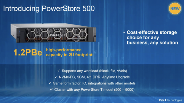 Dell EMC PowerStore 500