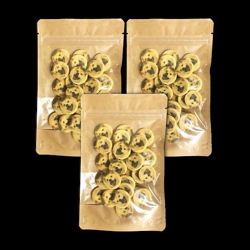 犬用クッキーL(30個入りx3袋)【オープン記念でオリジナルシール3枚セットプレゼント】