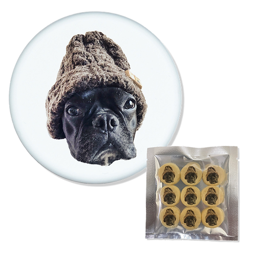 トリーツ缶×犬用クッキー(9個入りx1袋)セット