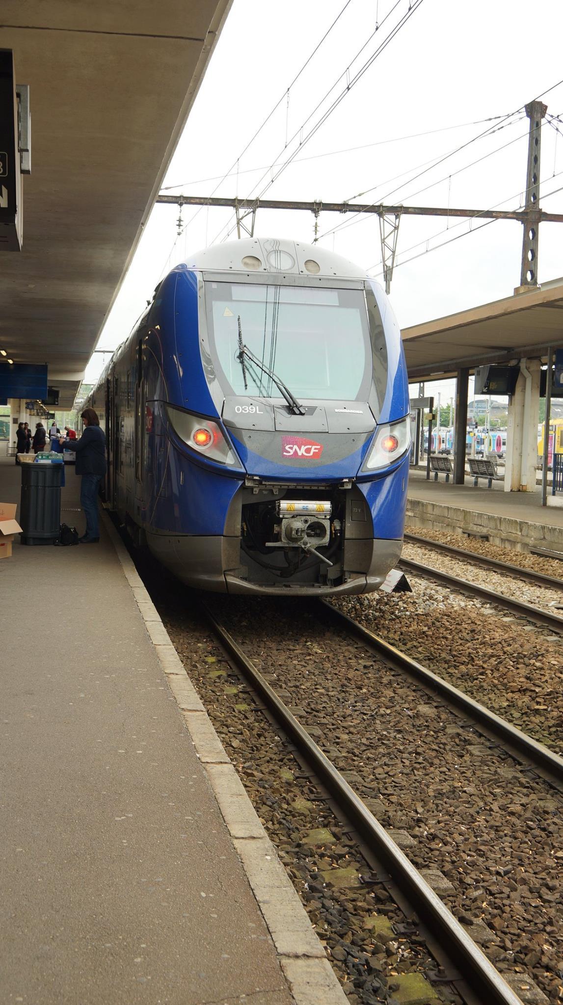 SNCF CHARTRES LES INCIVILITES