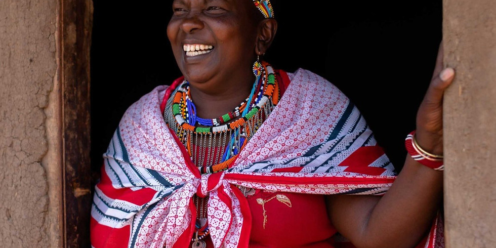 Virtual Fieldtrip to a Massai Beading Coop in Loita, Kenya
