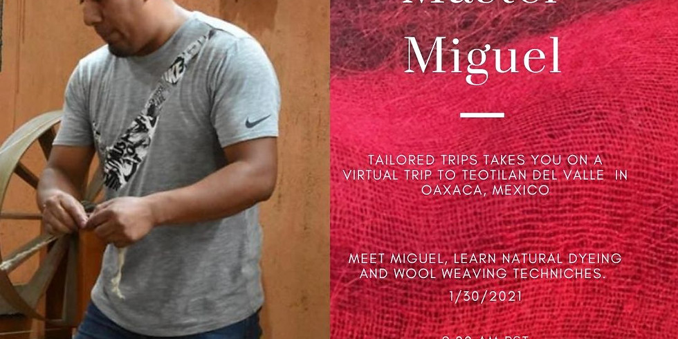 Wool Rug Shopping in Oaxaca. Meet Master Miguel and shop directly from him.