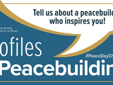 September 21 is the International Day of Peace