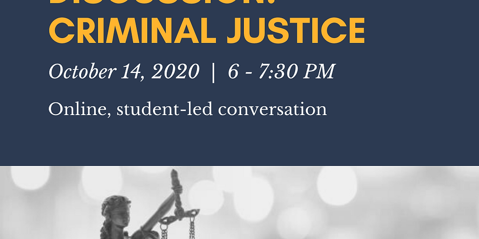 2020 JWAC Discussion: Criminal Justice