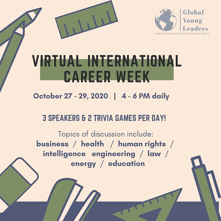 2020 Virtual International Career Week