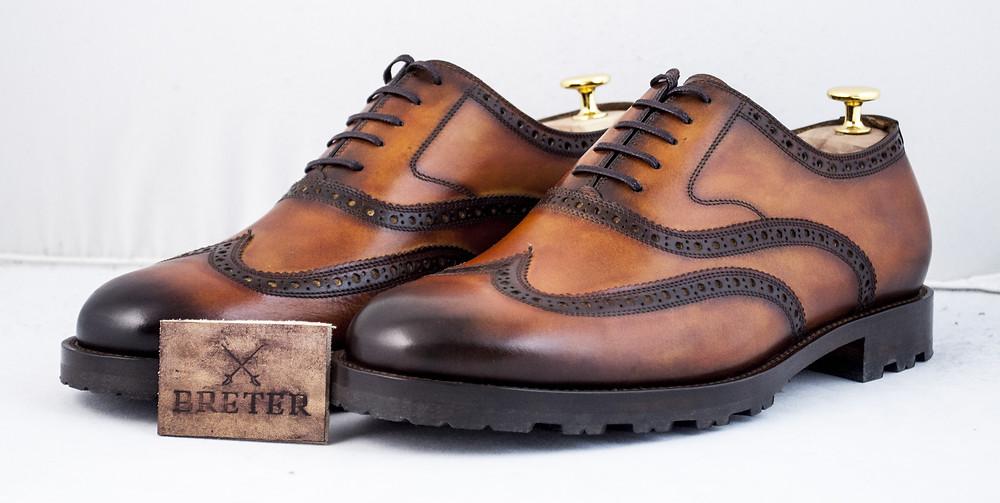 Зимние ботинки. Индивидуальный пошив обуви. Ручная работа