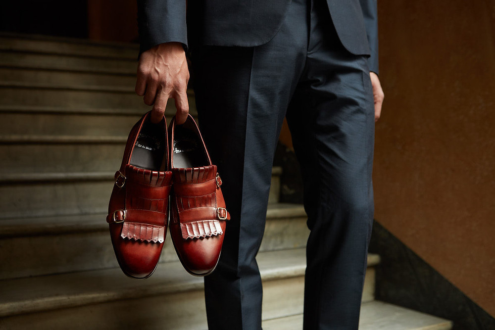 Santoni - обувь ручной работы. Итальянская мужская обувь