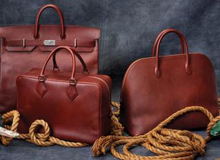 Уникальная кожа Hermès, с русской историей