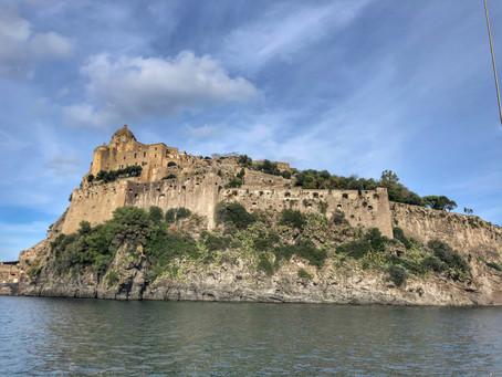 Ponza a Ischia, Ischia a Napoli e a incrível Pompeii