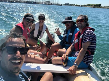 Cubatão Sur Mer, preparativos e o nosso primeiro passeio de Dinghy!