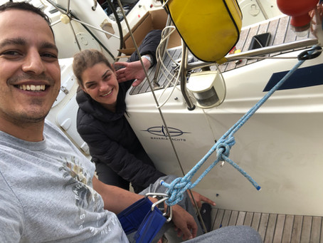 Terceira semana vivendo a bordo, novos amigos, mais tarefas e um pouco de corona vírus