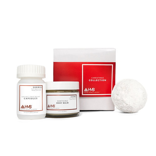 Collection No. 2 | FS Pain Relief Capsules, FS Body Balm, & ISO Bath Bomb