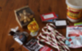 A wide variety of organic holiday candies