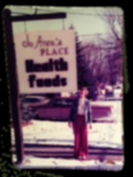 Original Jo Anne's Place Health Foods sign