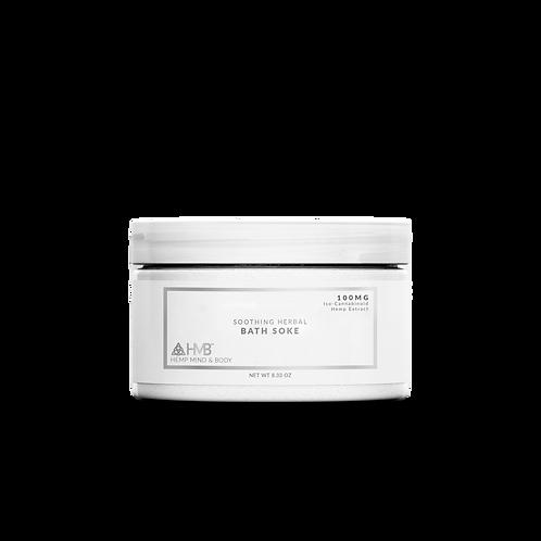 Soothing Herbal Bath Soke | Iso-Cannabinoid Hemp Extract | 100MG