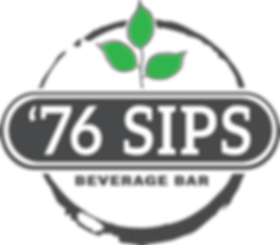 76 Sips Beverage Bar Logo
