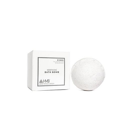Soothing Bath Bomb | Iso-Cannabinoid Hemp Extract | 25MG