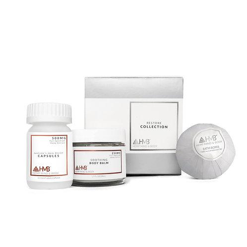 Collection No. 2 | 10 Ct FS Pain Relief Capsules, FS Body Balm, & ISO Bath Bomb