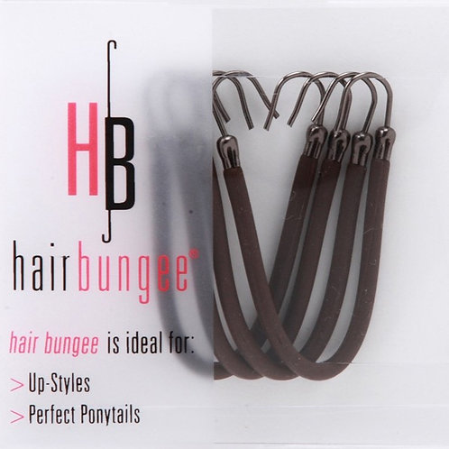 Hair Bungee Silicon - Brown