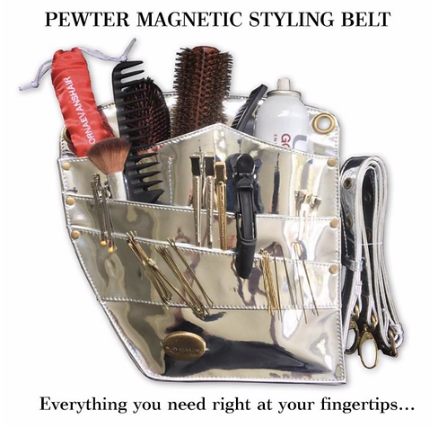 Magnetic Styling Belt - Pewter