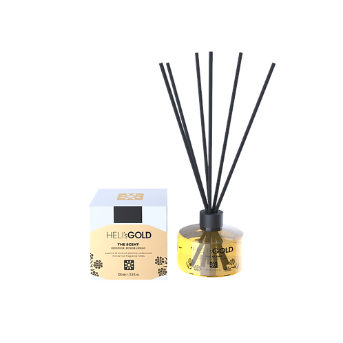 Heli's Gold - Home Fragrance Reed Diffuser