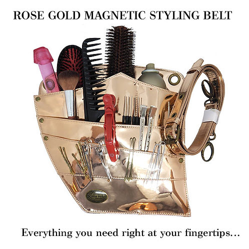 Magnetic Styling Belt - Rose Gold