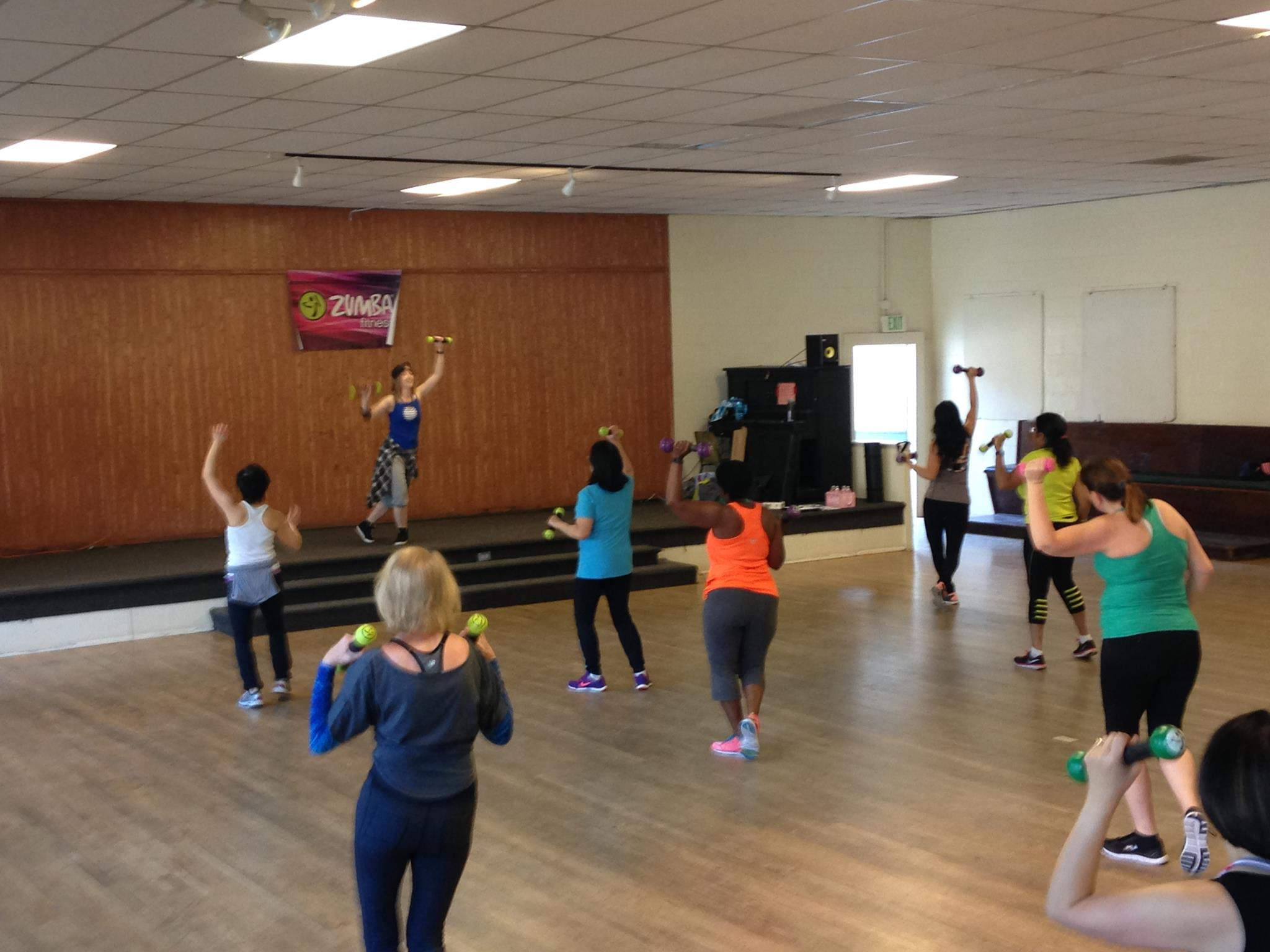 Zumba Toning with Amy at The Grange