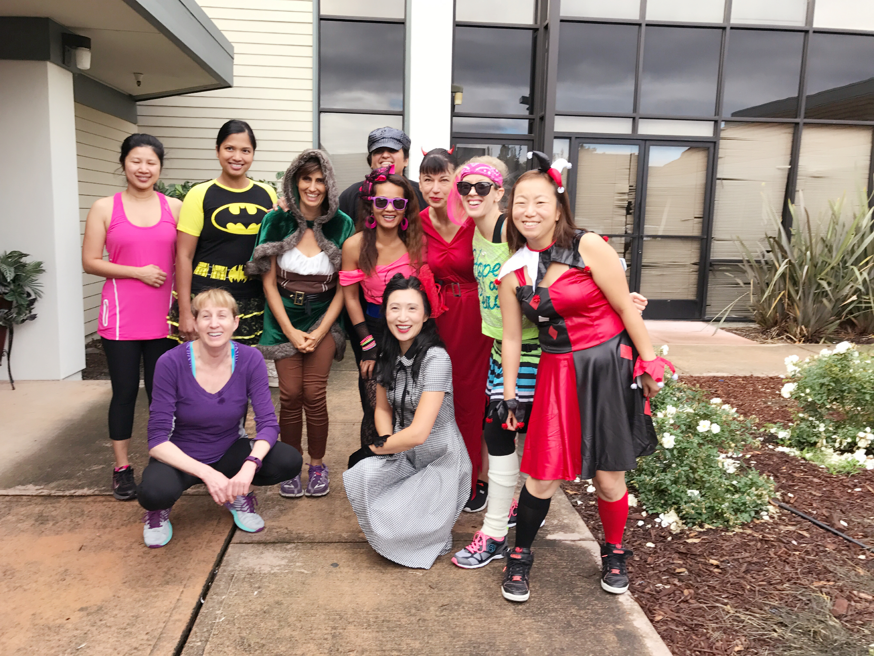 Halloween Zumba Class 2016