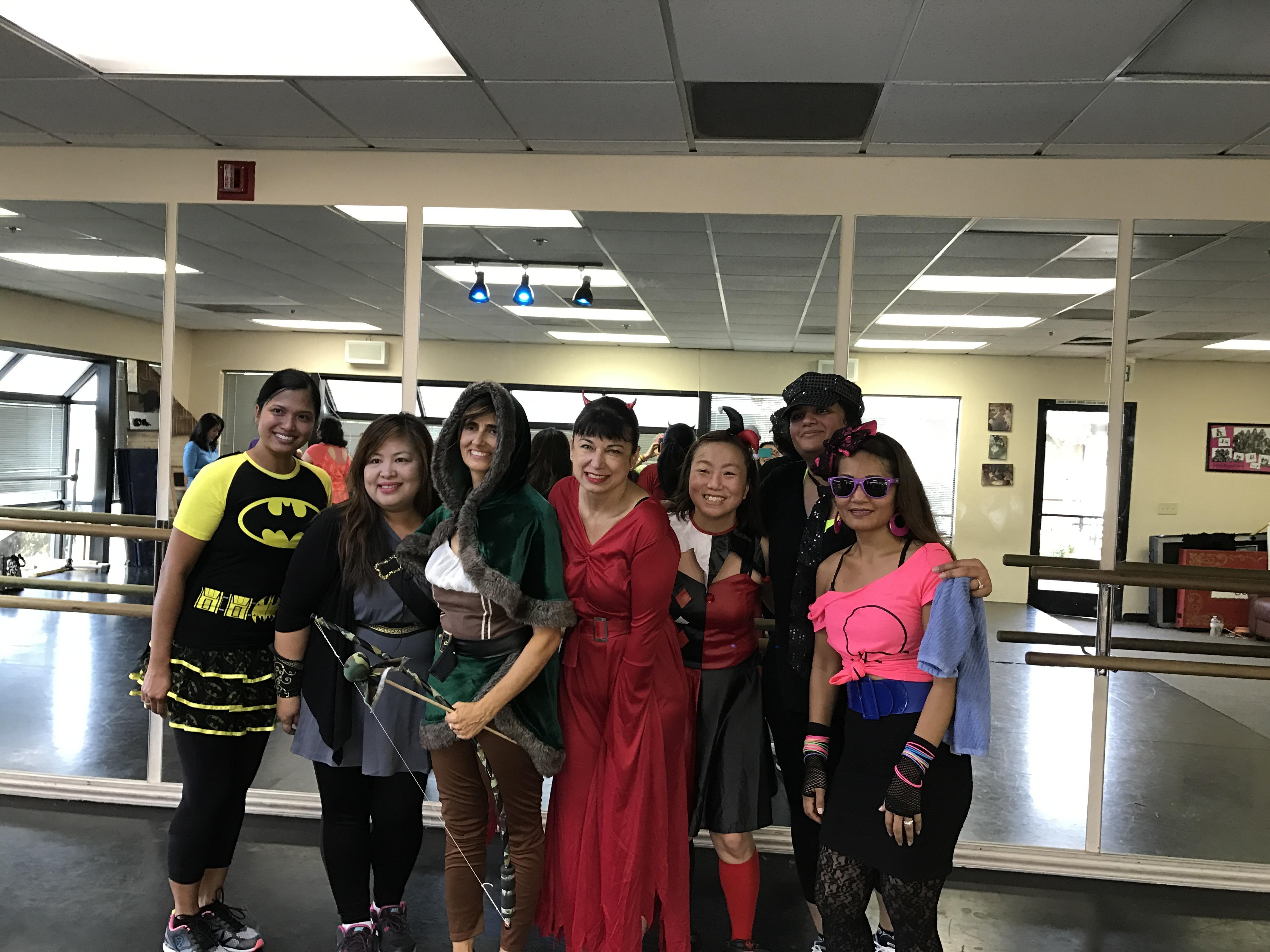 Costume contest participants!