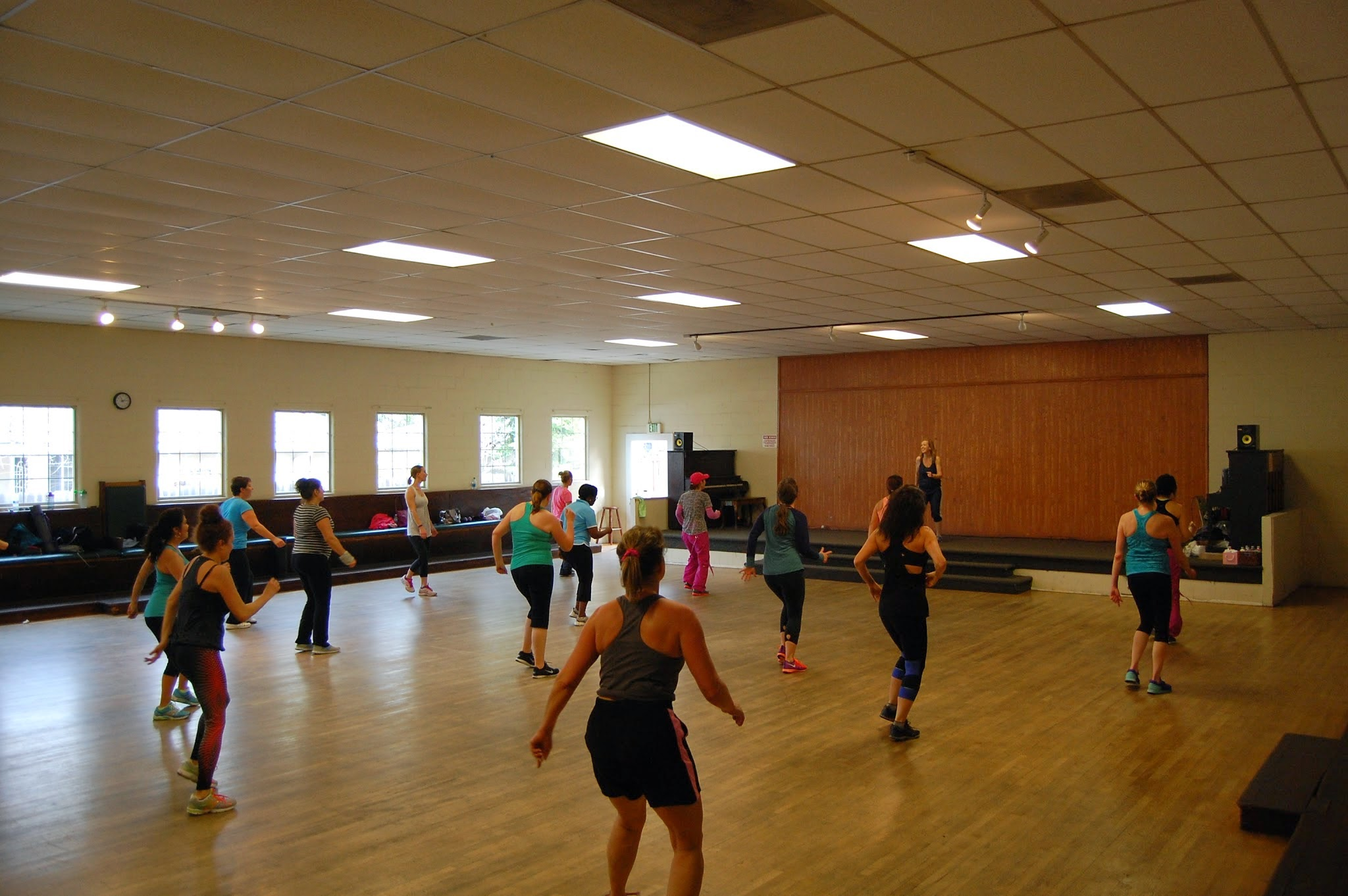 Another great Zumba class at The Grange!