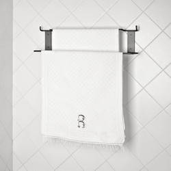 Double Towel rail with hooks no12 by Elmar Thome