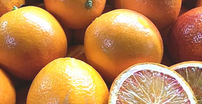 Sanguina & Seville Oranges, Plums & Romanesco