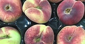 Flat Peaches, Kale & Runner Beans