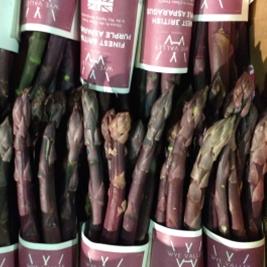 English Purple Asparagus