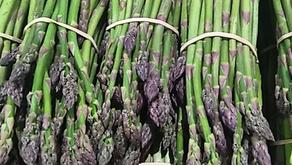 Sprue Asparagus, Baby Purple Artichokes & Pineberries...