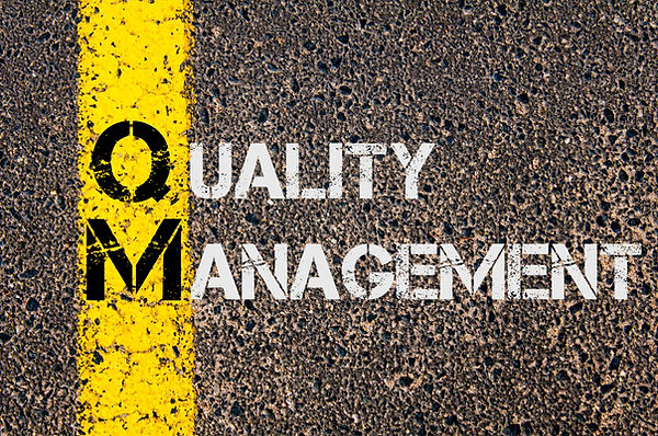 Concept image of Business Acronym QM as