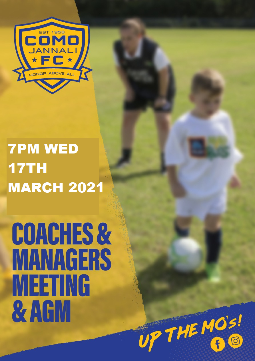 Coaches & Manager & AGM Meeting